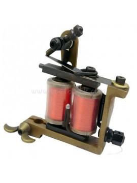 Tattoo Maschine N101 10 Layer Spule Eisen Shader Retro Rot
