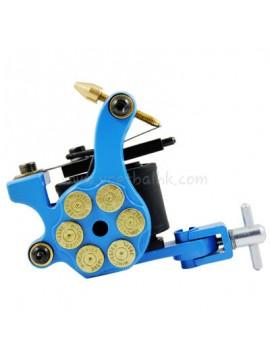 Tattoo Maschine N105 10 Layer Coil Eisen Shader Bullet Blau