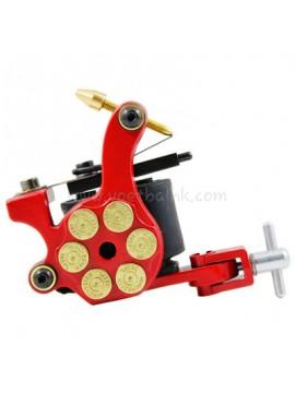 Tattoo Maschine N105 10 Layer Coil Eisen Shader Bullet Rot