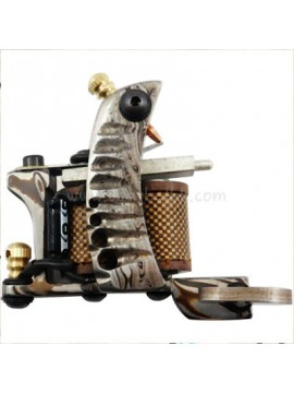Tattoomaschine N109 10 Layer Coil Damascus Stahl Liner Pattern