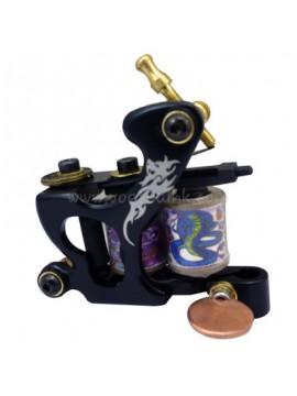 Tattoo Maschine N120 10 Schicht Spule Bronze Liner Drachen