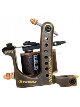 Tattoo Maschine N120 10 Schicht Spule Bronze Shader 1073