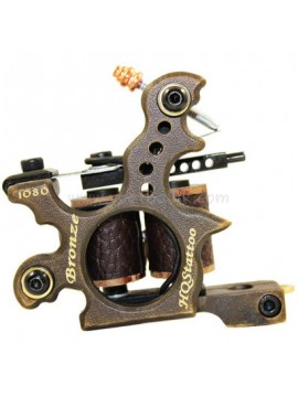 Tattoo Maschine N120 10 Schicht Spule Bronze Shader 1080