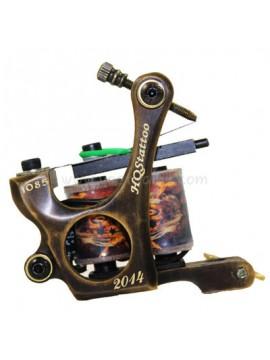 Tattoo Maschine N130 10 Schicht Spule Bronze Shader 1085