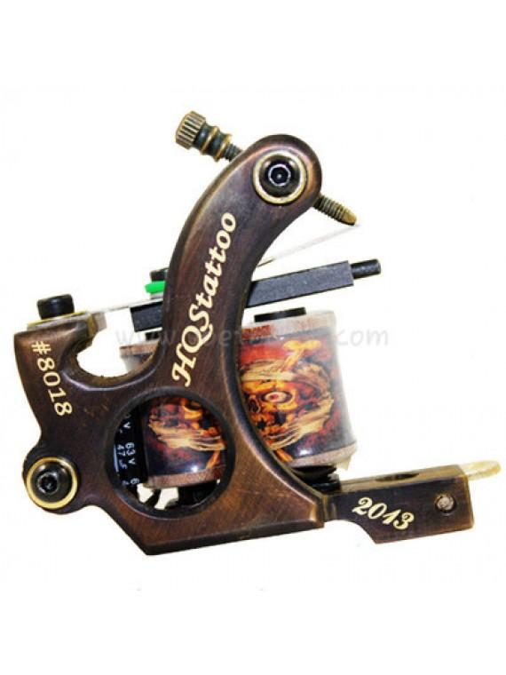 Tattoo Maschine N130 10 Schicht Spule Bronze Shader Nummer 8018