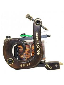 Tattoo Maschine N130 10 Schicht Spule Bronze Shader Nummer 8022