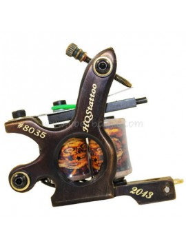 Tattoo Maschine N130 10 Schicht Spule Bronze Shader Nummer 8035