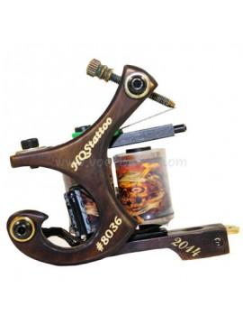 Tattoo Maschine N130 10 Schicht Spule Bronze Shader Nummer 8036