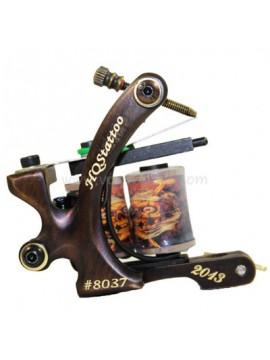 Tattoo Maschine N130 10 Schicht Spule Bronze Shader Nummer 8037