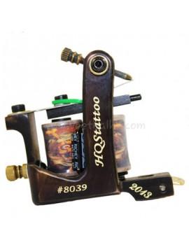 Tattoo Maschine N130 10 Schicht Spule Bronze Shader Nummer 8039