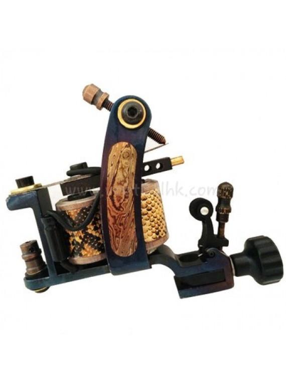 Tattoo Maschine N140 10 Layer Coil Bronze Shader Lasherweave