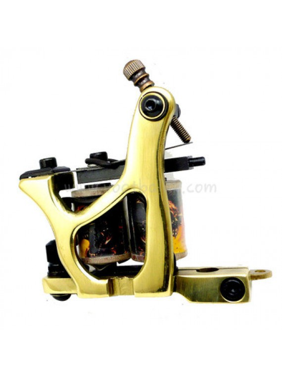 Tattoo Machine N160 10 Schicht Spule Bronze Shader Nummer Drei