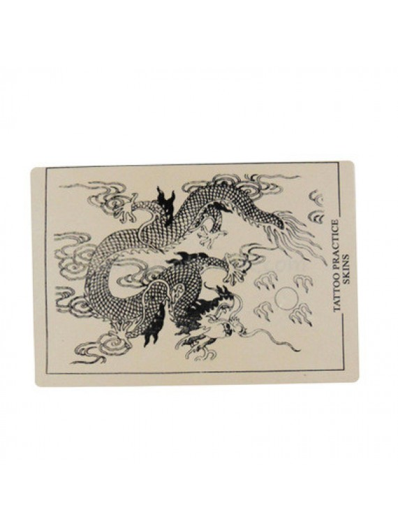 Tattoo Silikon Haut üben Dragon 10PCS